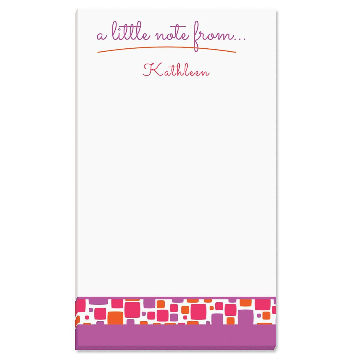 Noteworthy Personalized Notepads