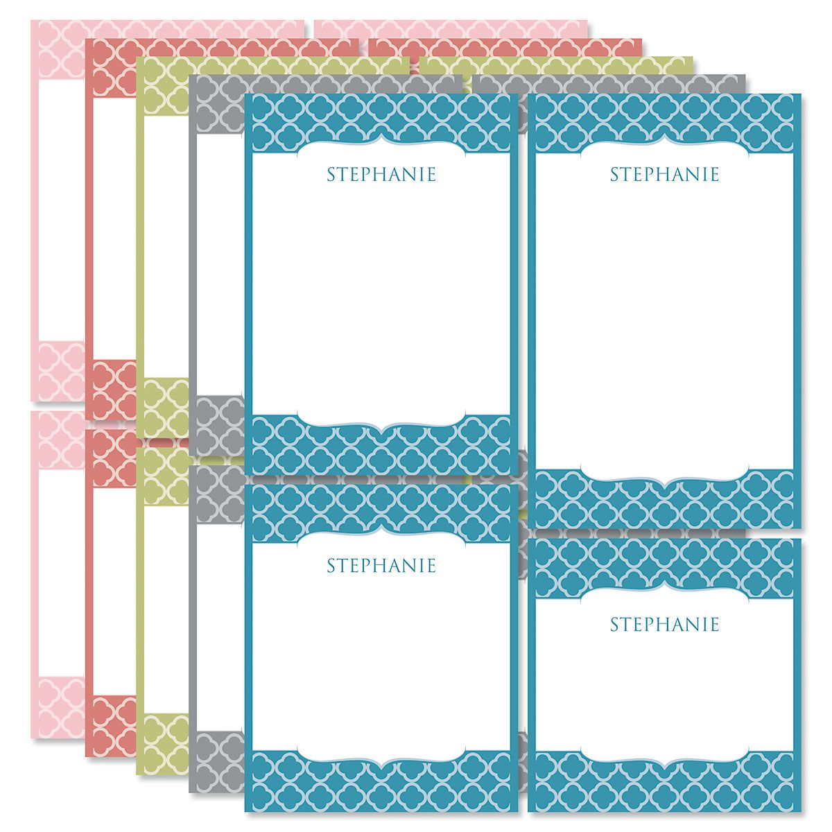 Renaissance Personalized Notepad Set