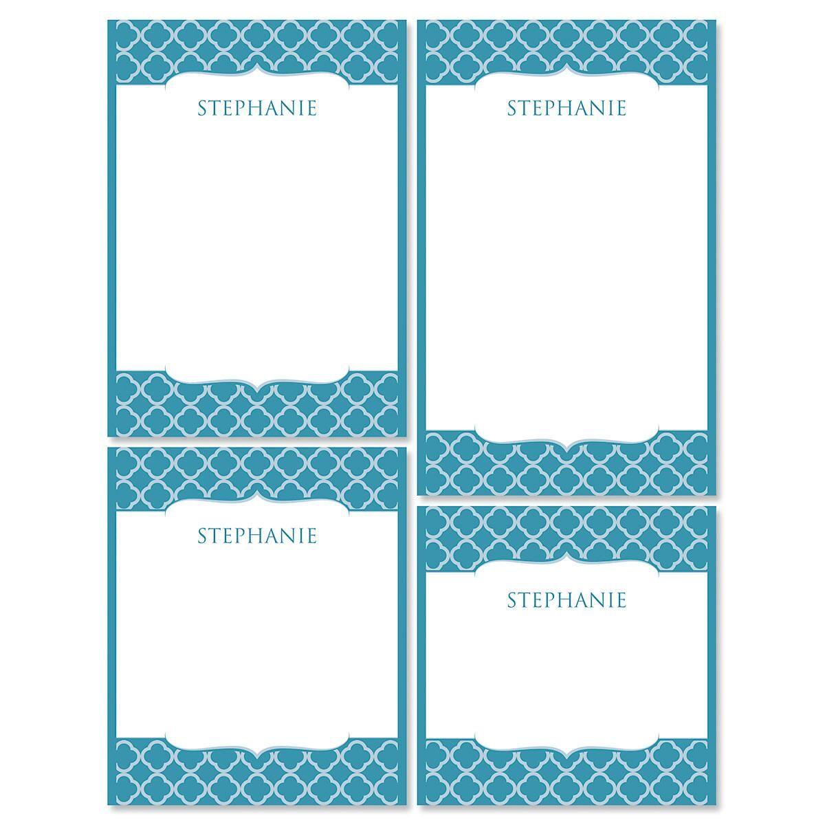 Renaissance Notepad Set