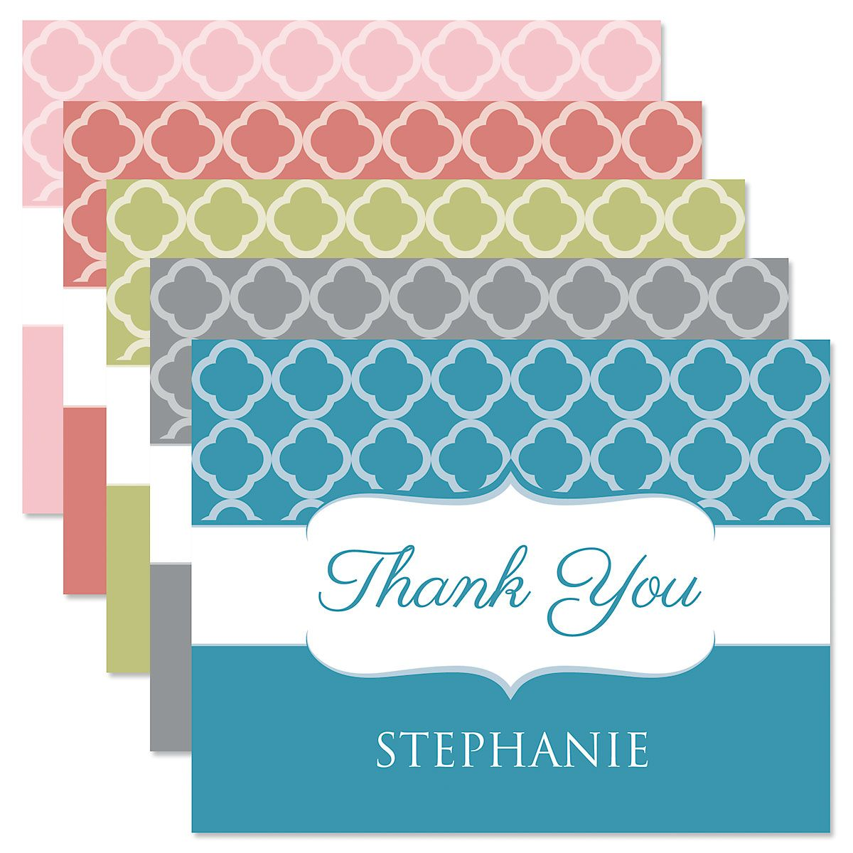 Renaissance Personalized Thank You Cards