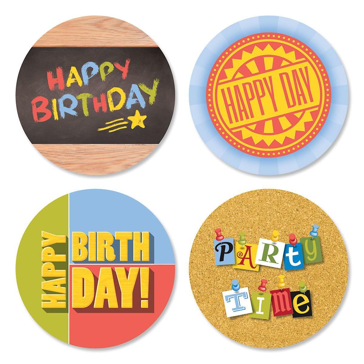 Messages Birthday Seals