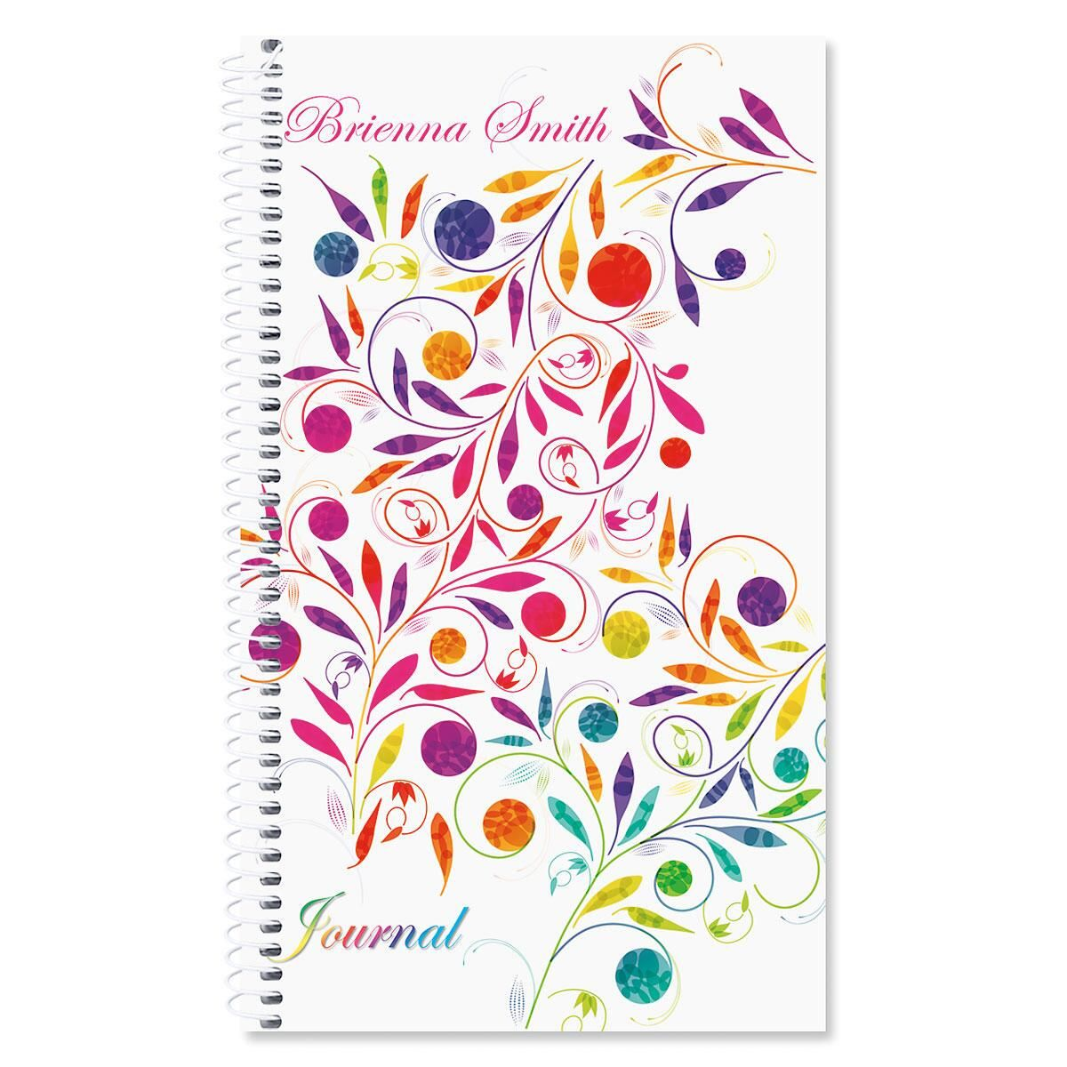 Color Swirl Journal