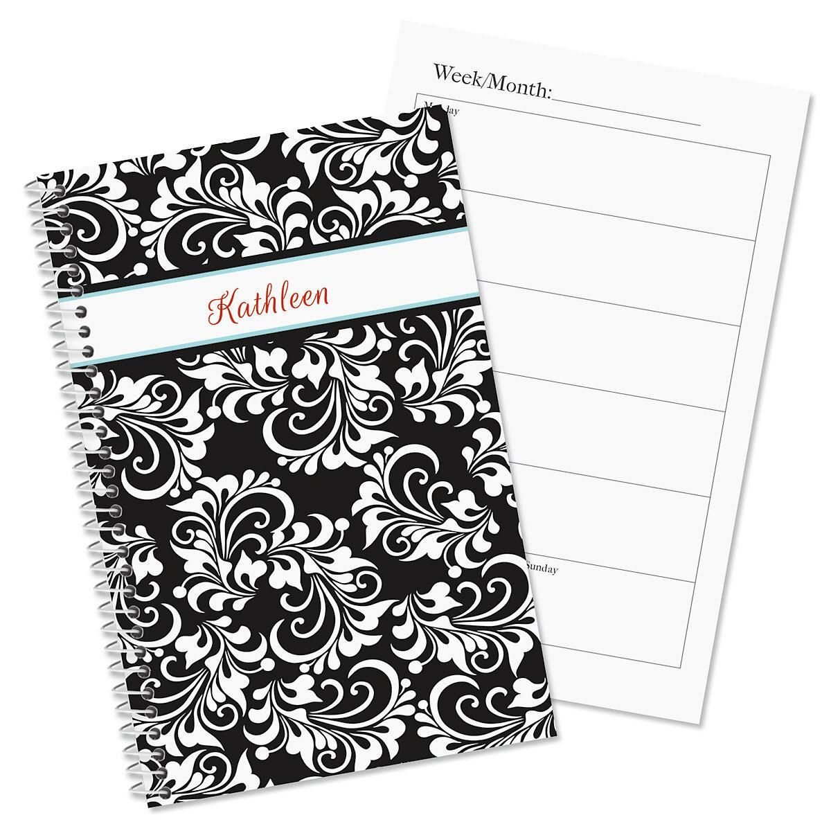 Opulent Personalized Weekly Planner