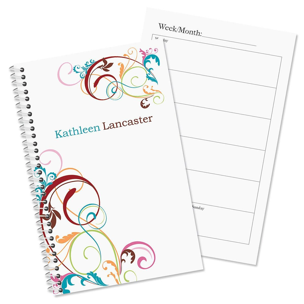 Fantasia Personalized Weekly Planner | Current Catalog
