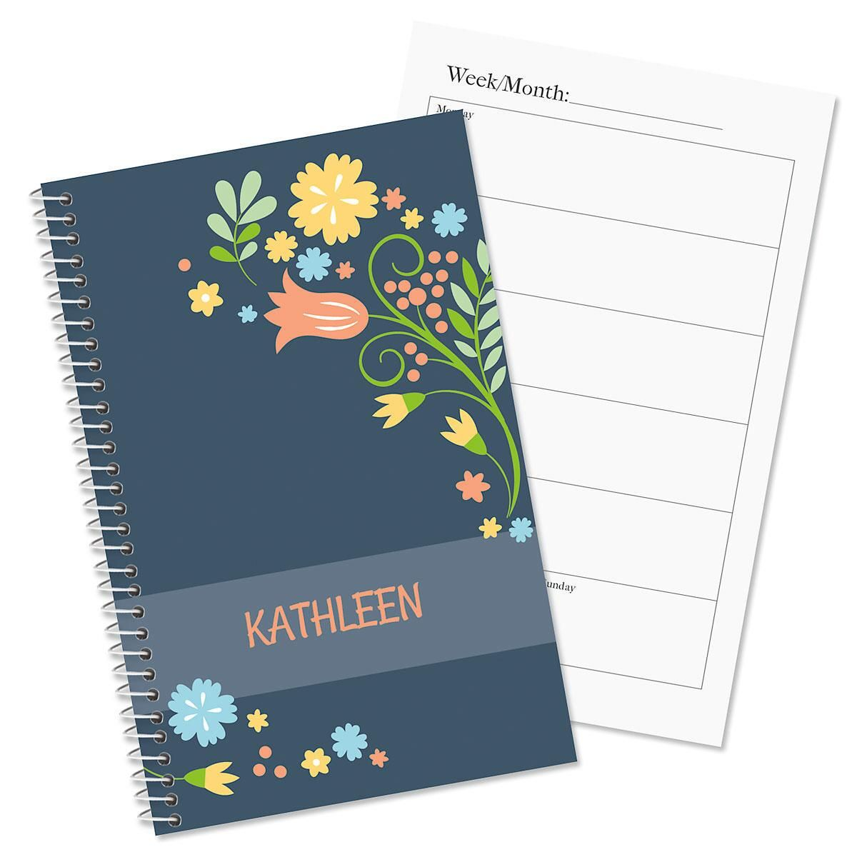 Simply Blooming Personalized Weekly Planners Current Catalog