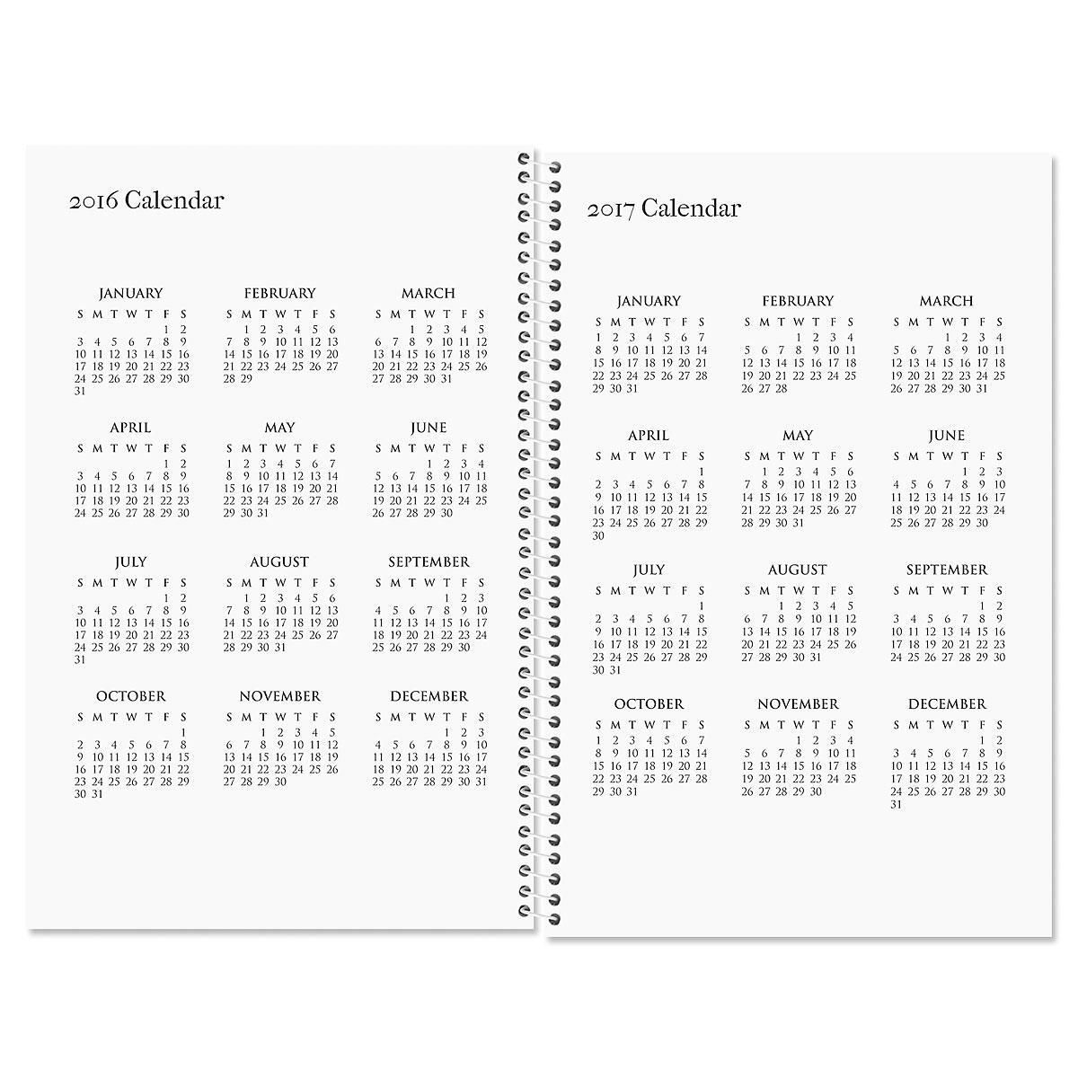Ribbon Monogram Personalized Weekly Planner