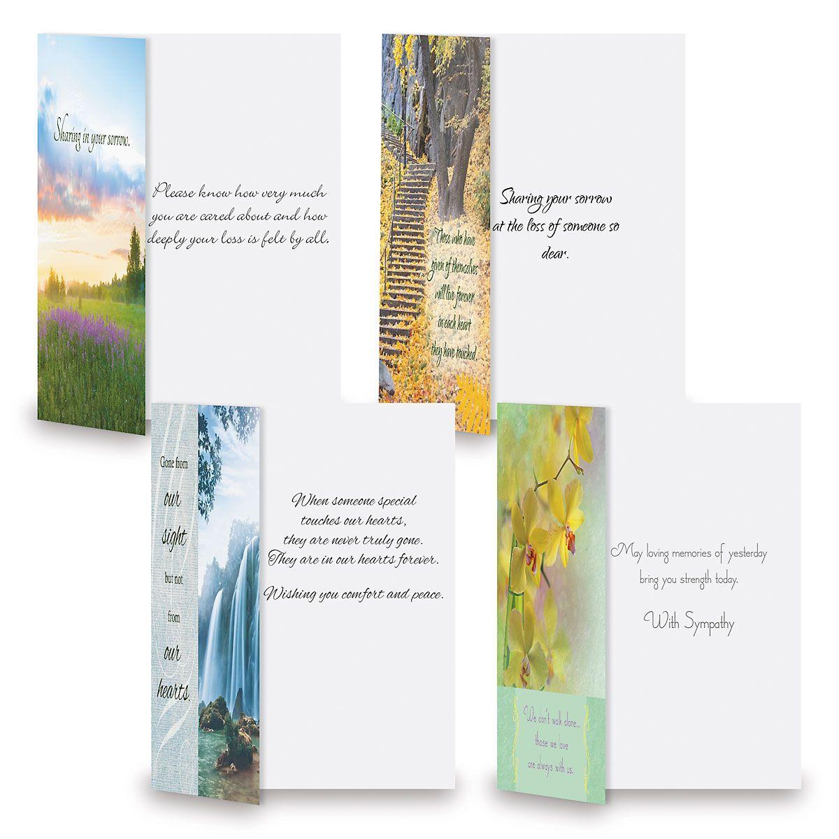 Mega Sympathy Cards Value Pack