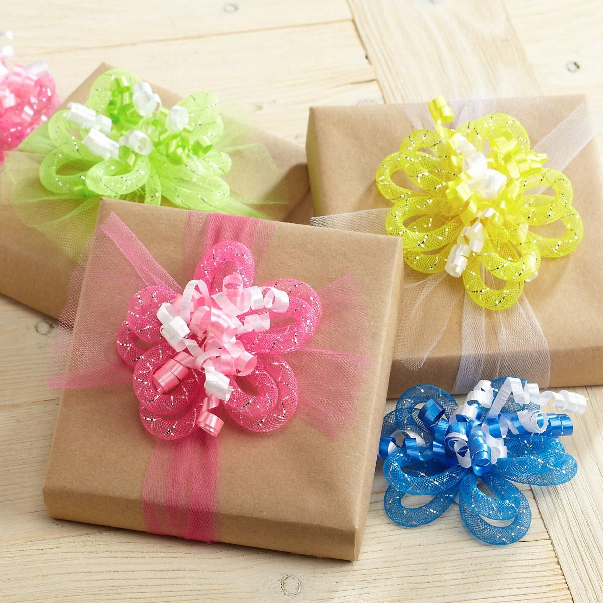 Flower Curly Bows