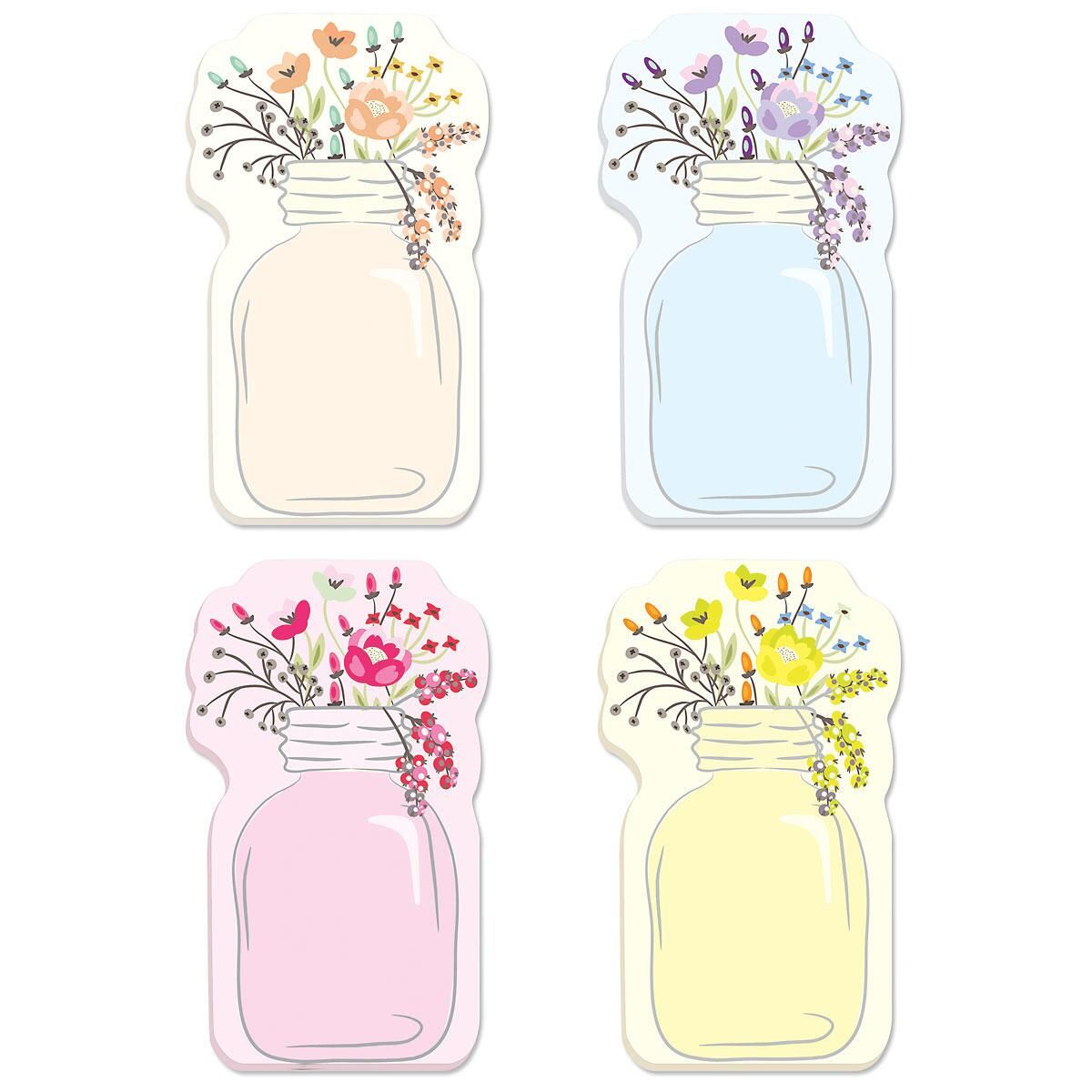 Mason Jar Sticky Notes