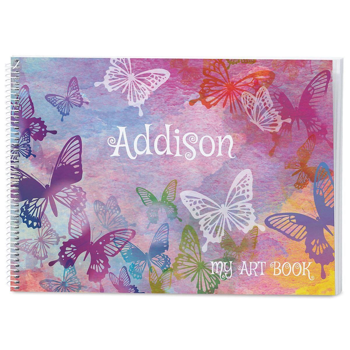 Butterflies Personalized Sketchbook