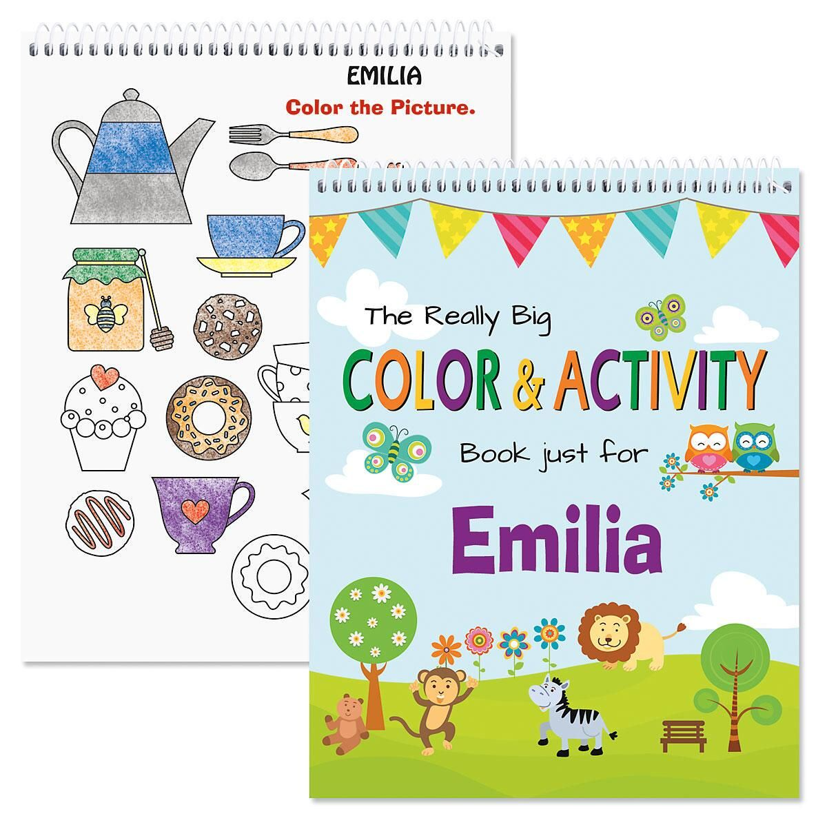 Everyday Personalized Activity Book