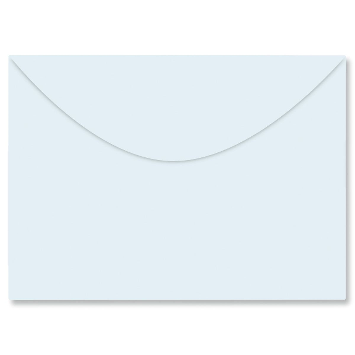 Color Notecard Envelope - Blue