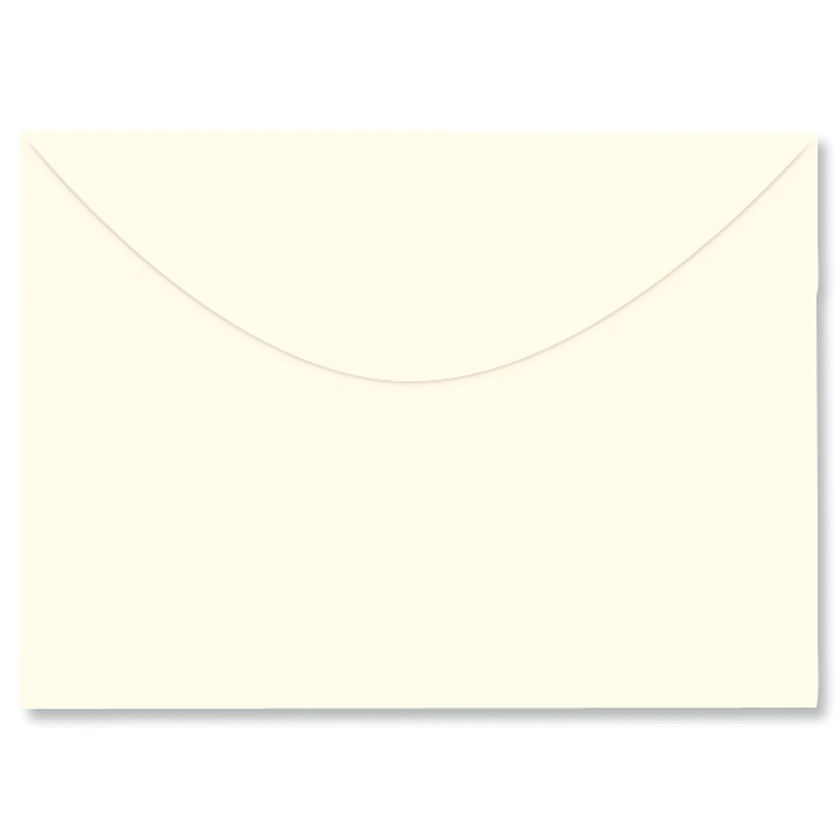 Colored Notecard Envelope - Cream