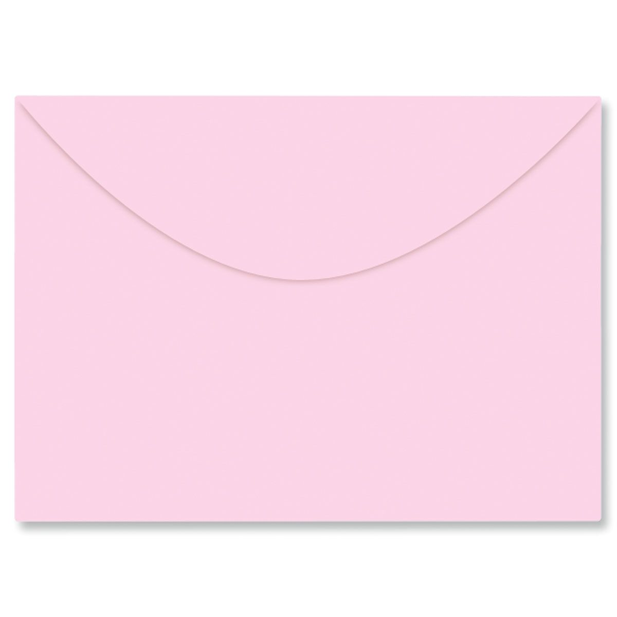Colored Notecard Envelope - Pink