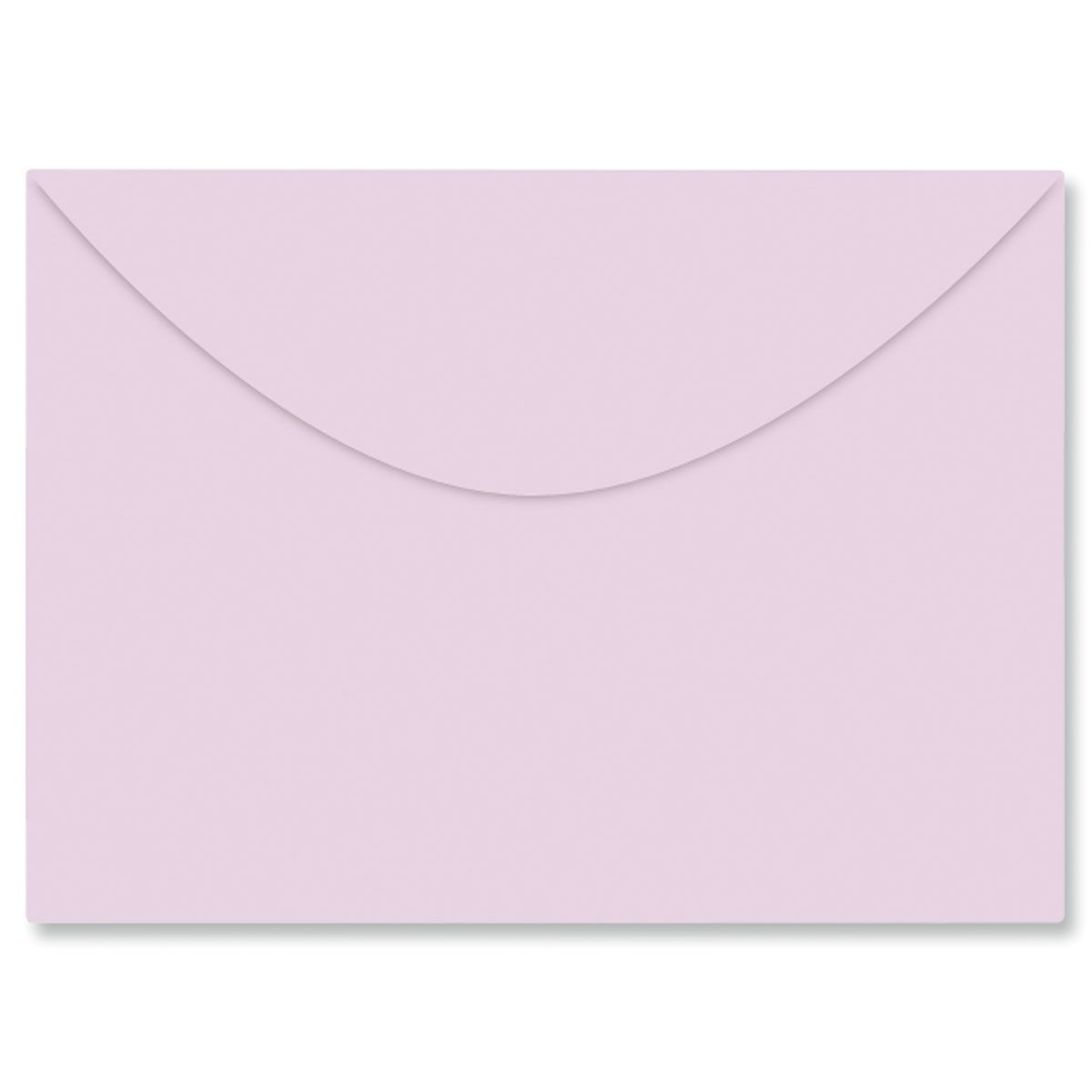 Colored Notecard Envelope - Purple