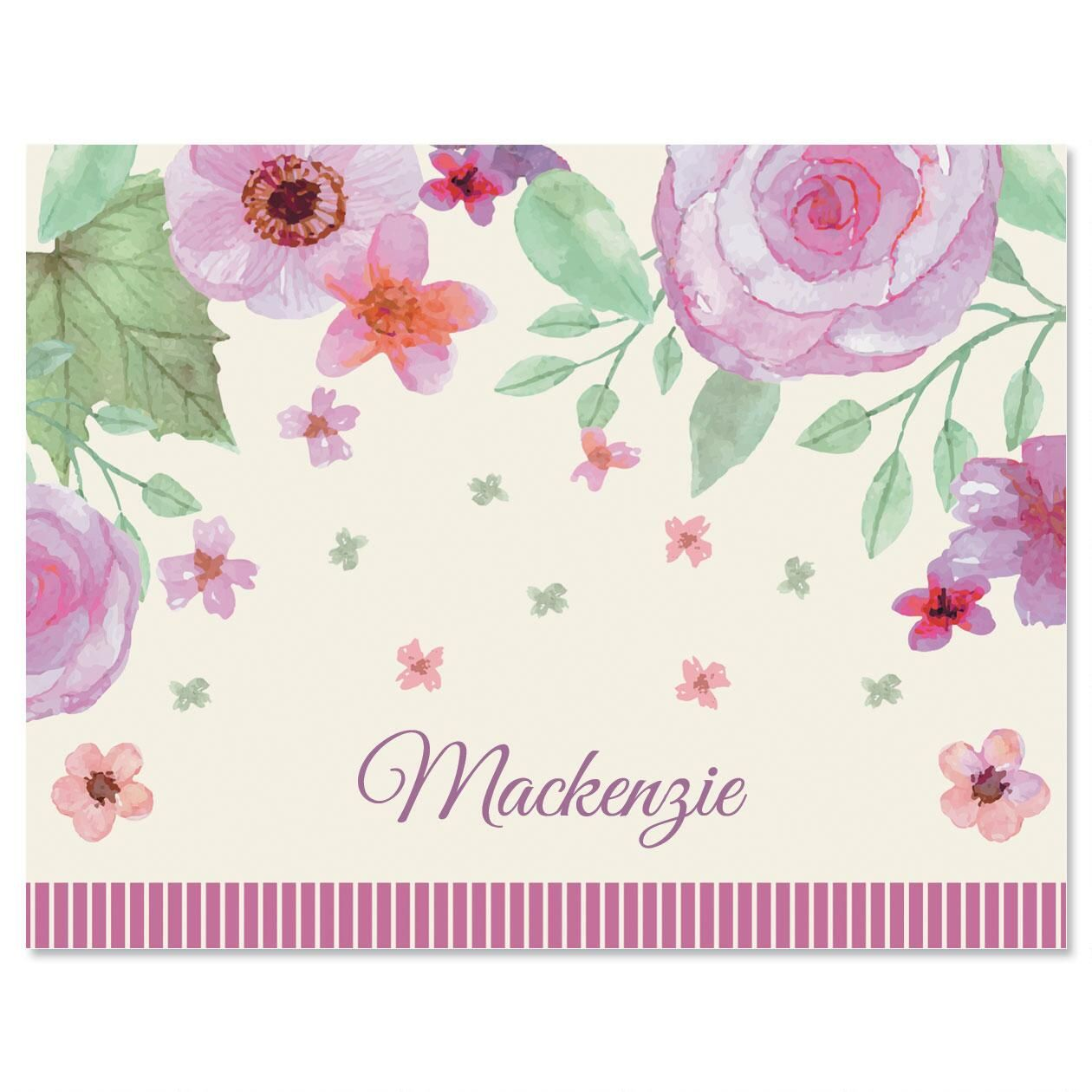Bliss Personalized Note Cards