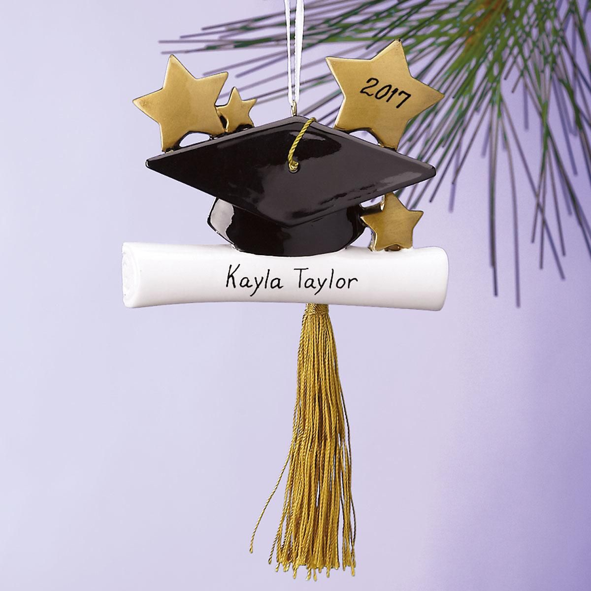 Grad Cap Graduation Ornament