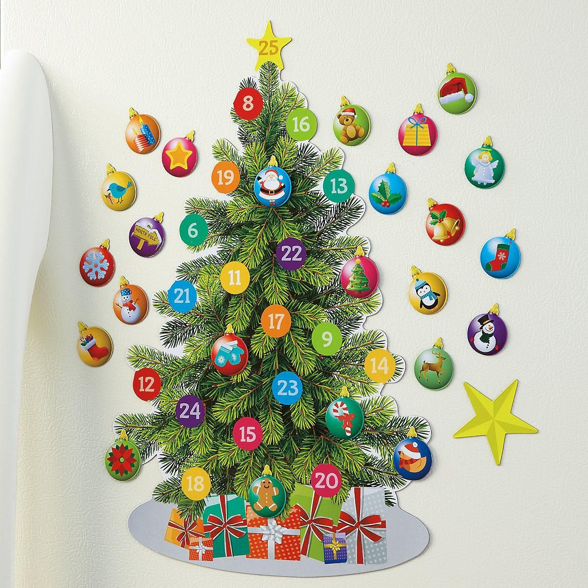 Magnetic Countdown Tree