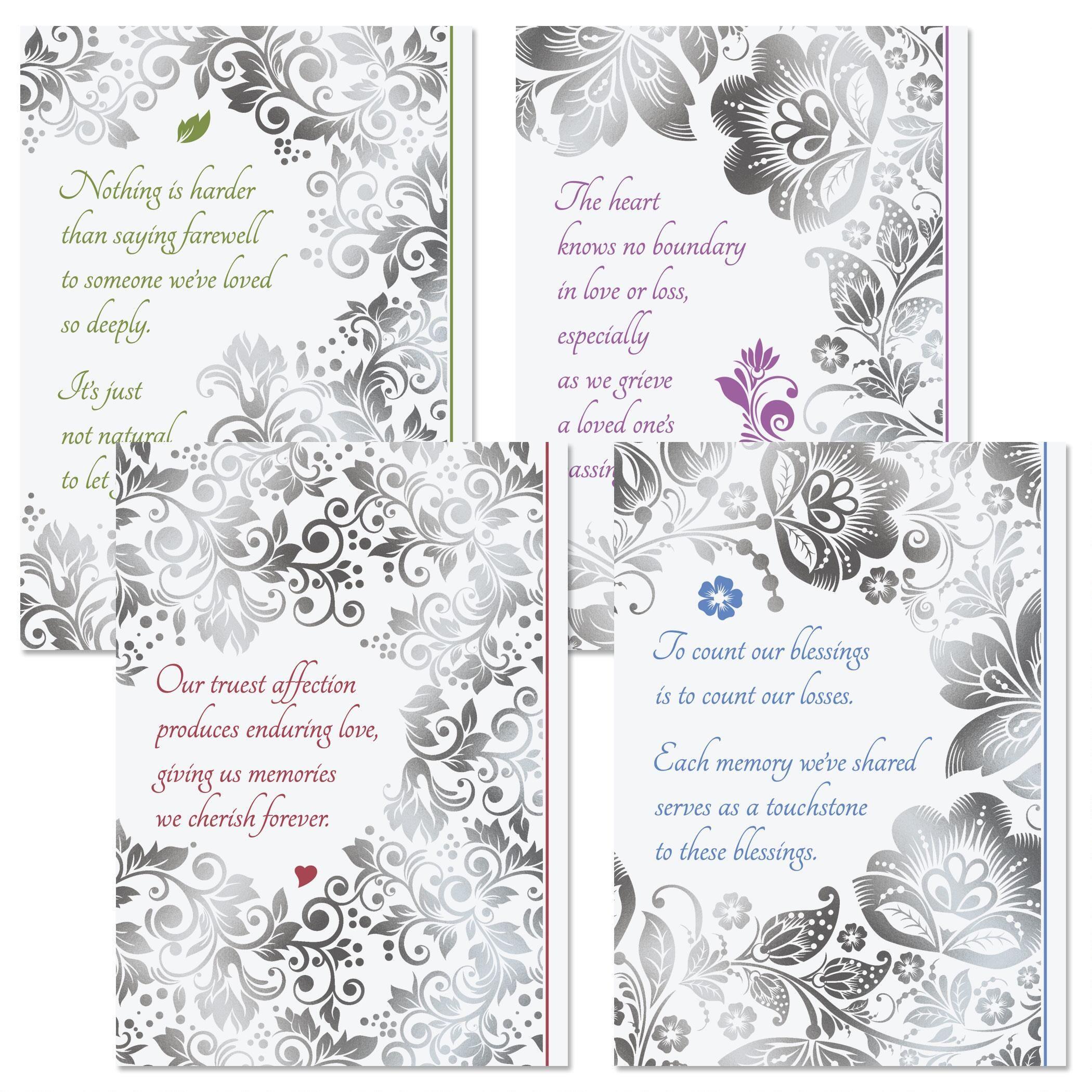 Lace Sympathy Cards
