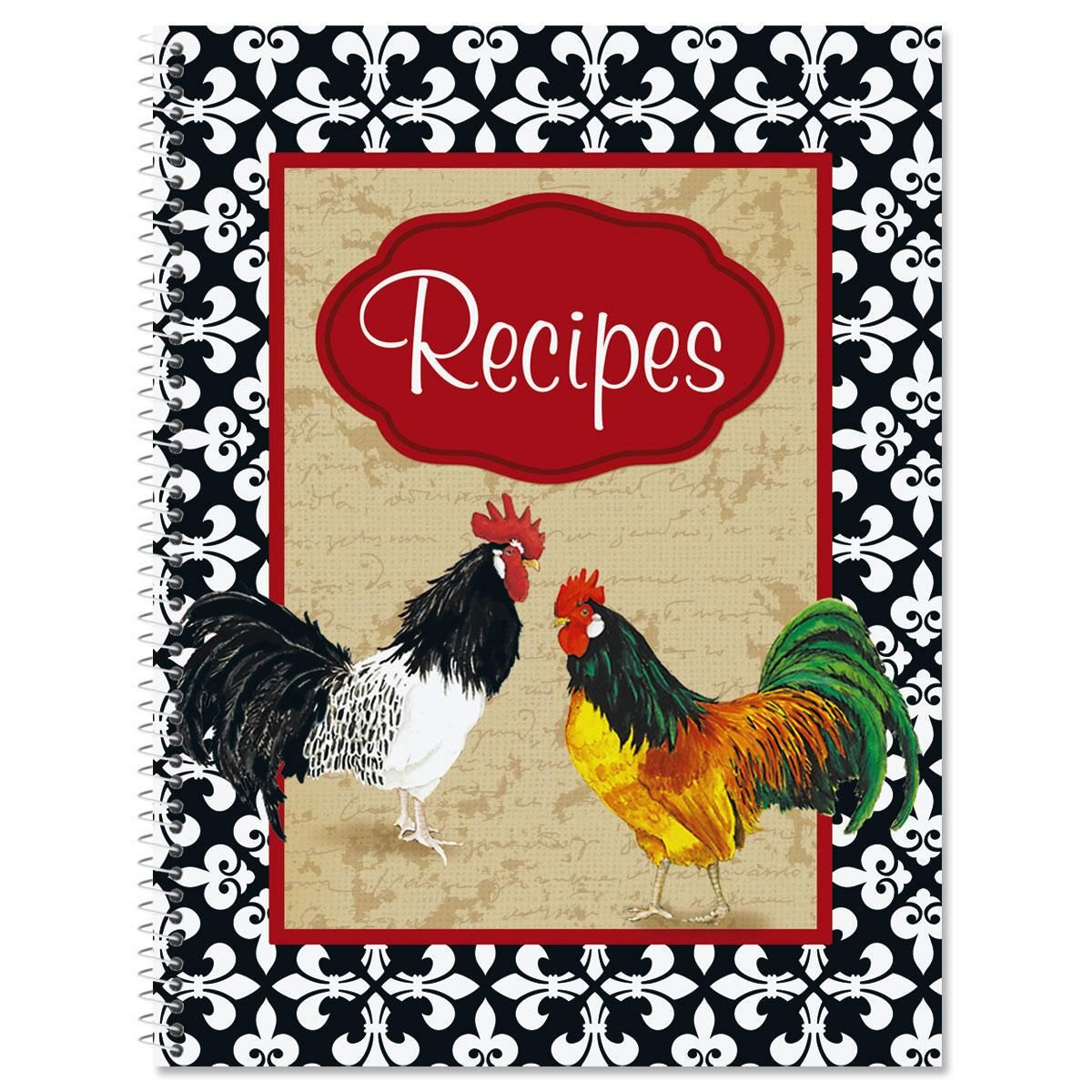 Rooster Recipe Saver Book