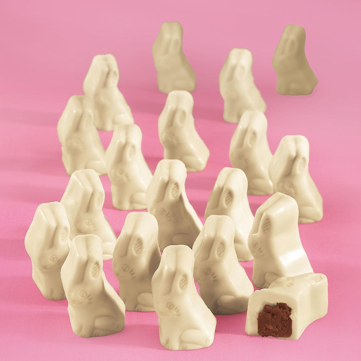 White Chocolate Bunnies