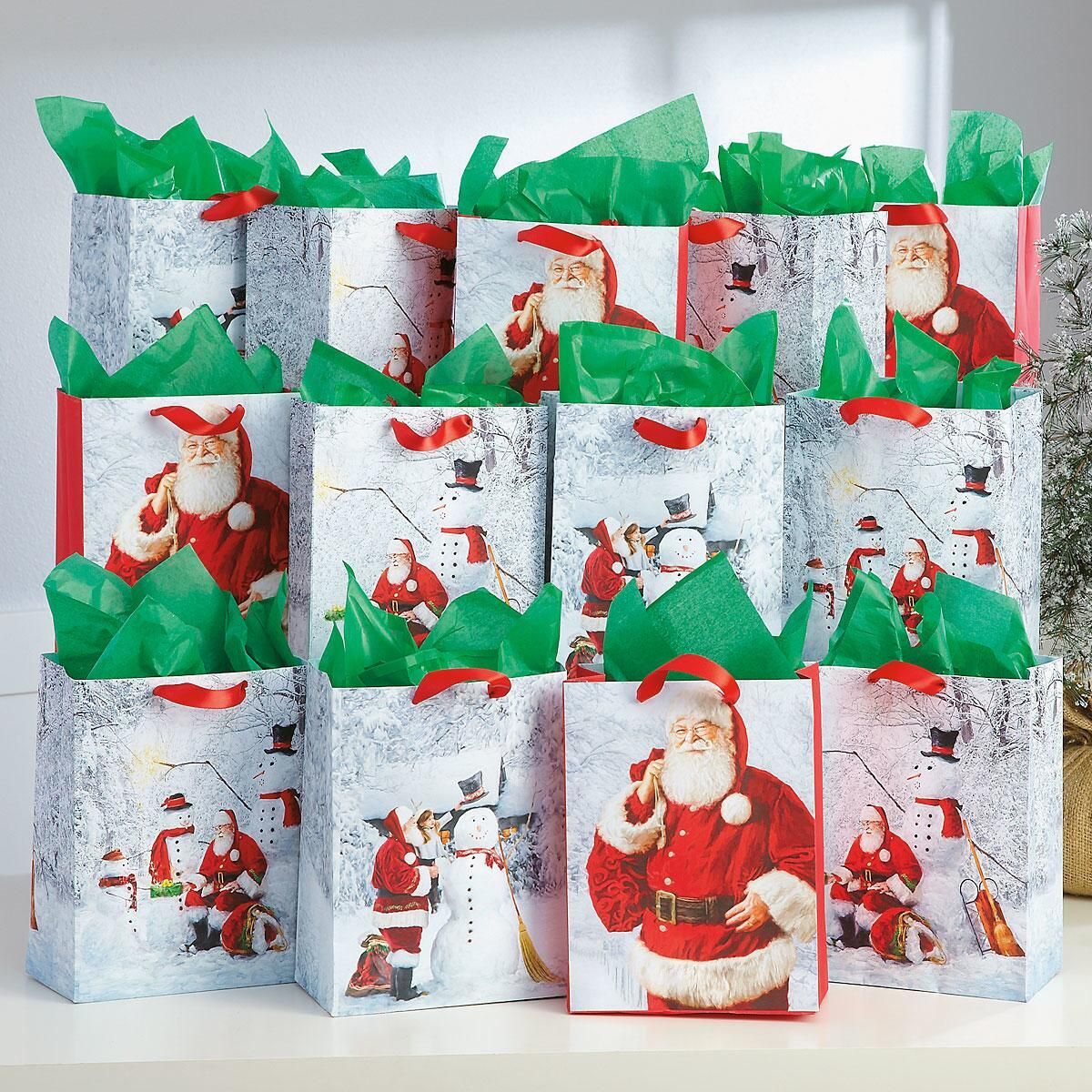 Christmas Santa Bag Value Pack