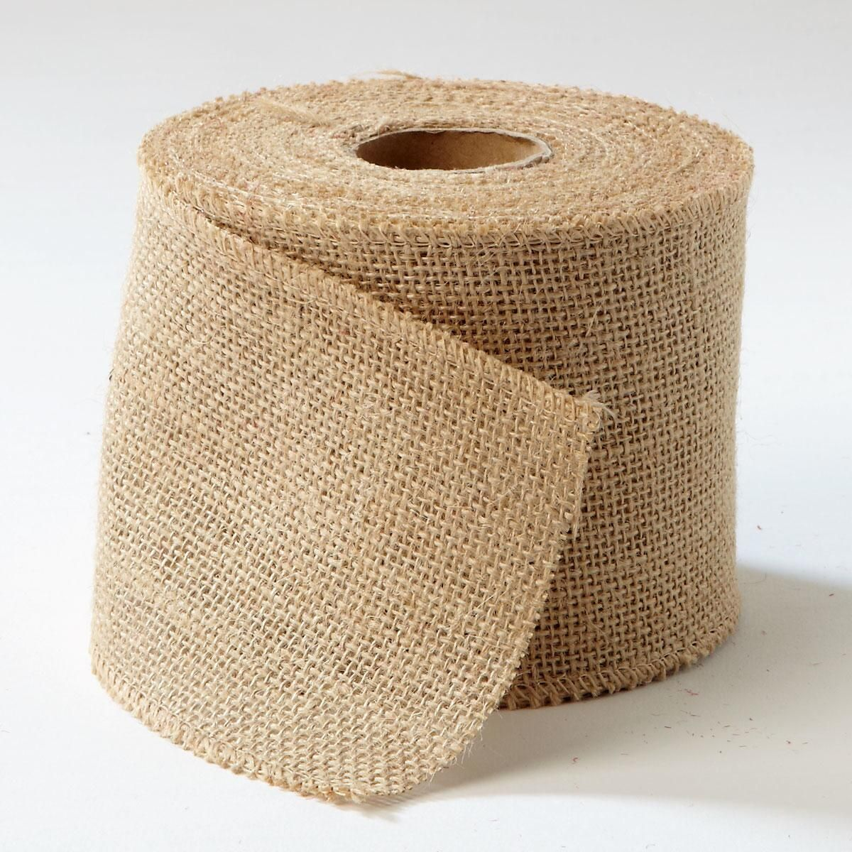 Natural Burlap Ribbons