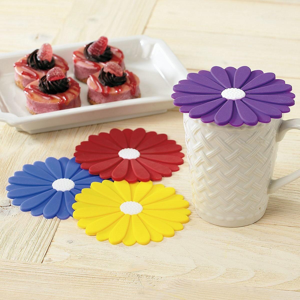 Daisy Silicone Coasters