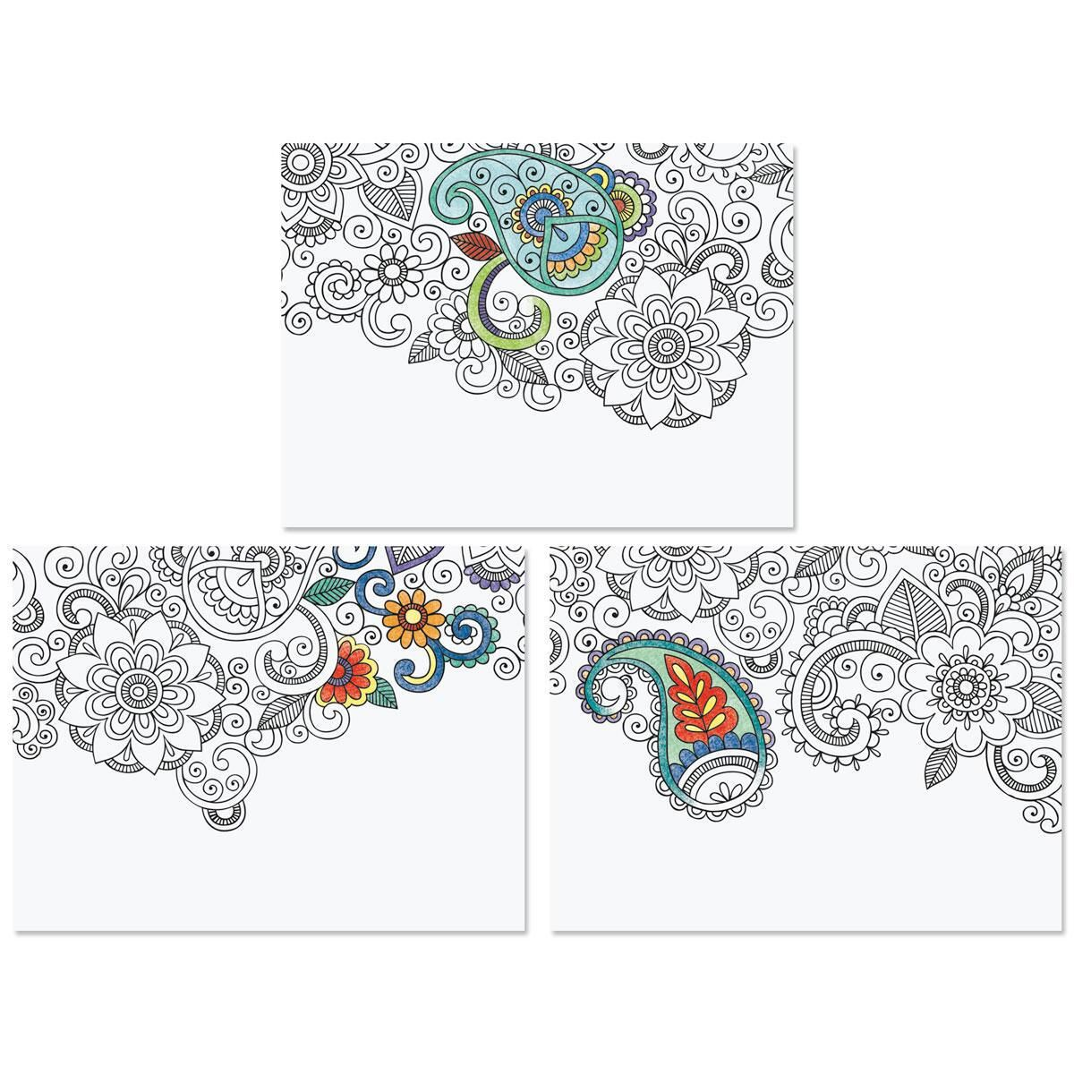 Doodle Art Note Cards