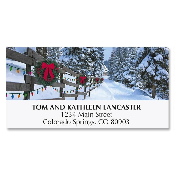 Forest Lane Deluxe Address Labels