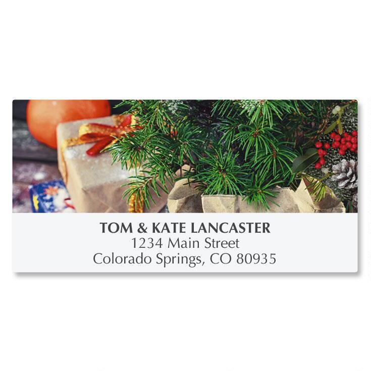 Winter Celebration Deluxe Address Labels