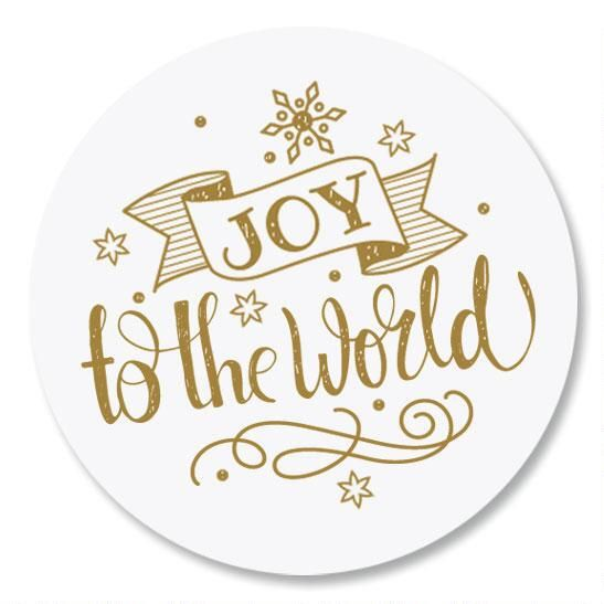 Joy to the World Seals