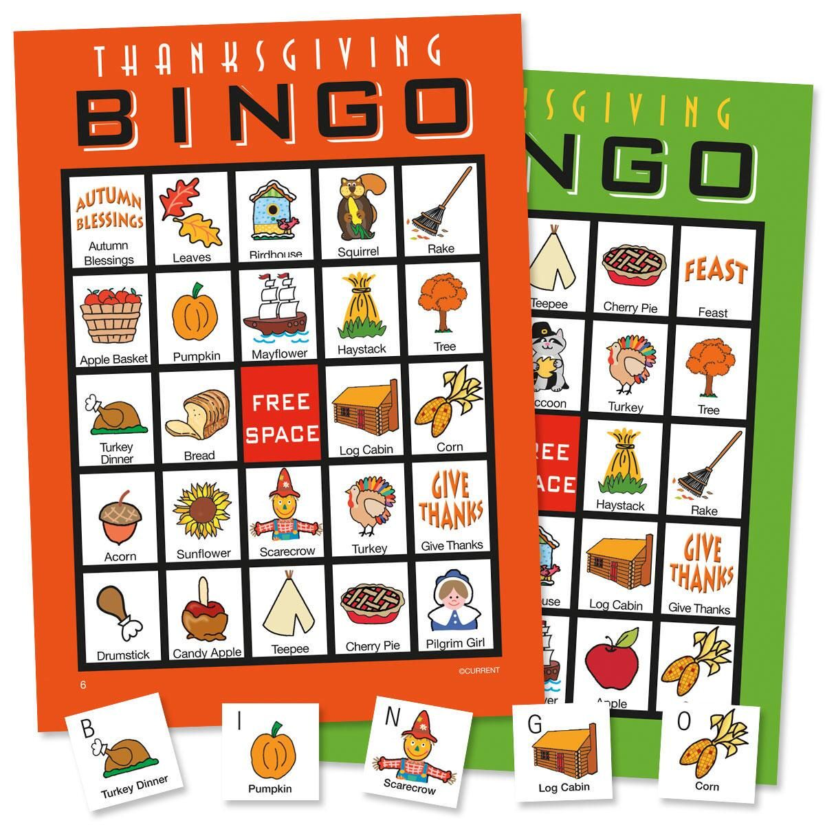 Thanksgiving Bingo Set