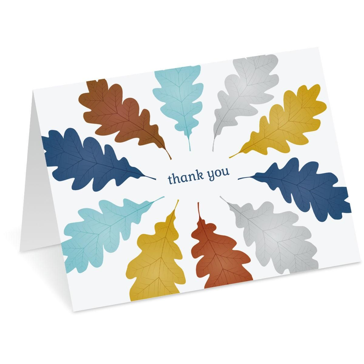 Autumn Thank You Note Cards