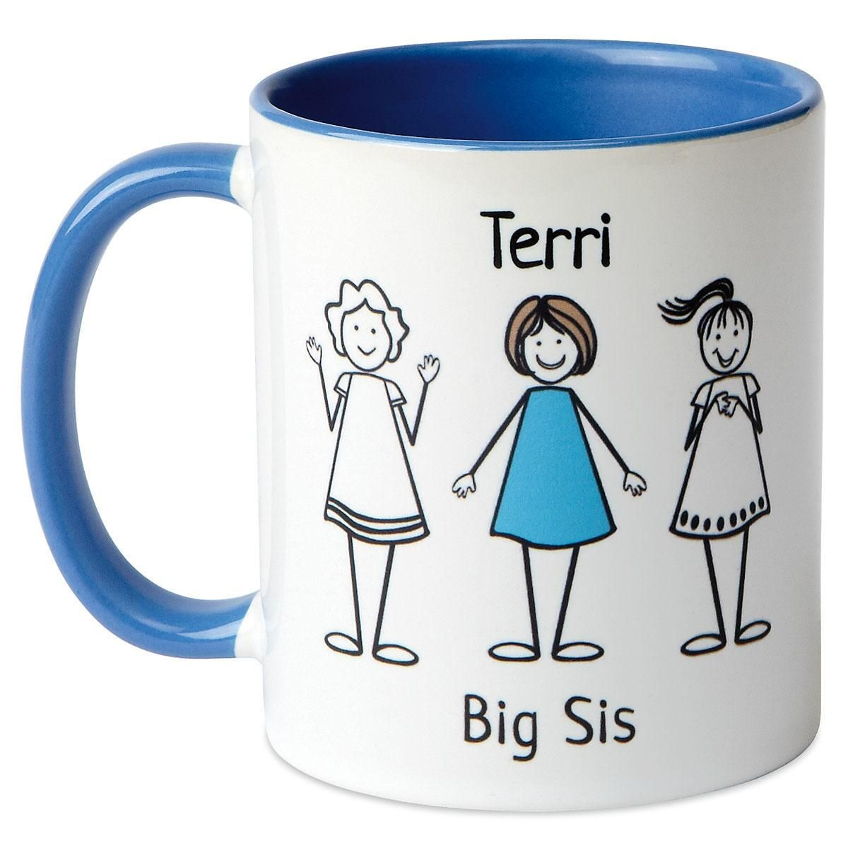 Big/Middle/Li'l Sis Mug