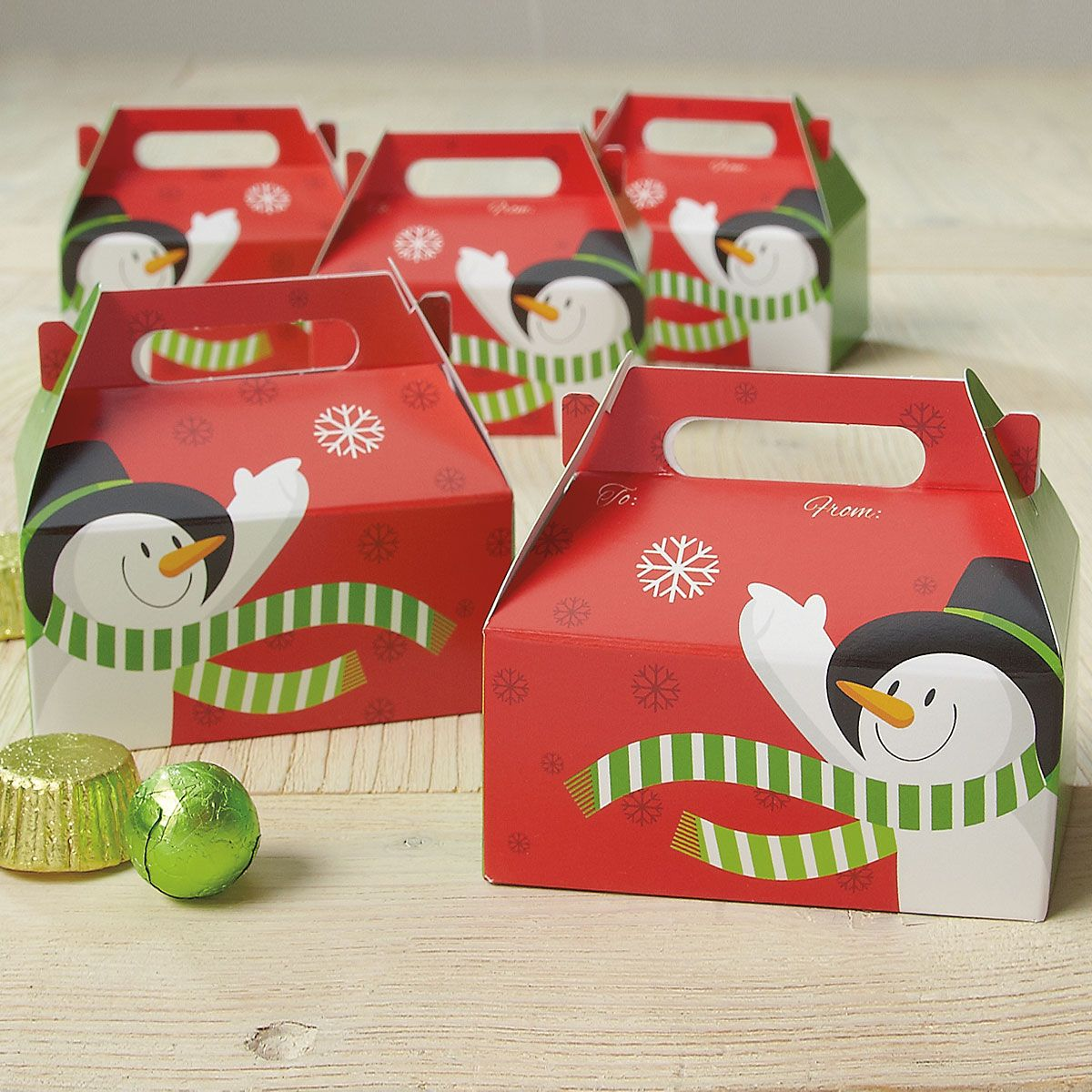Snowman Treat Boxes
