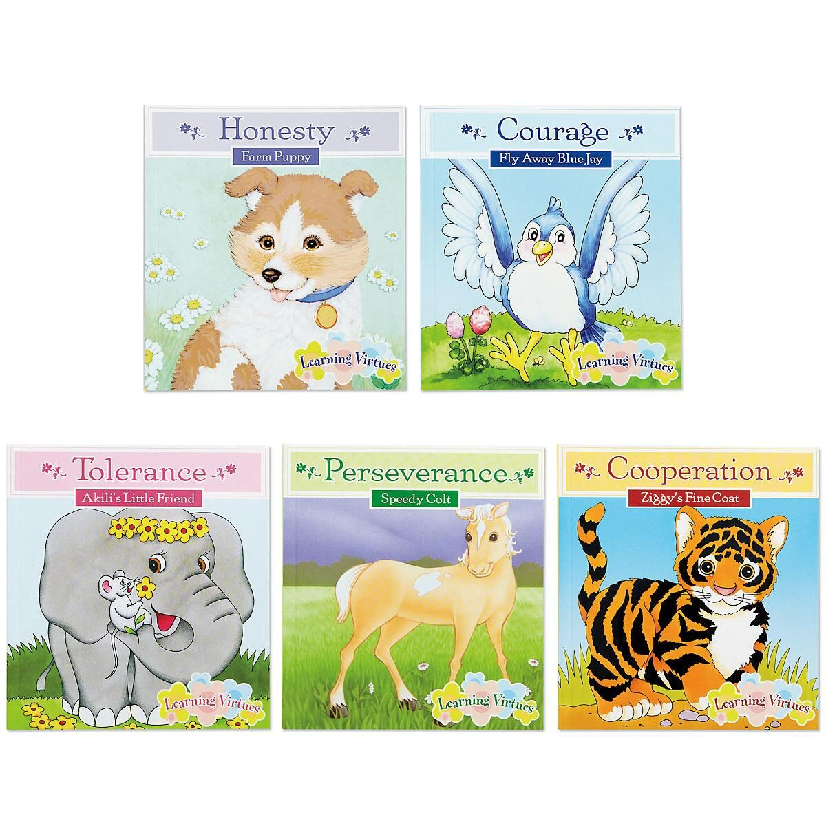 Learning Virtues Books