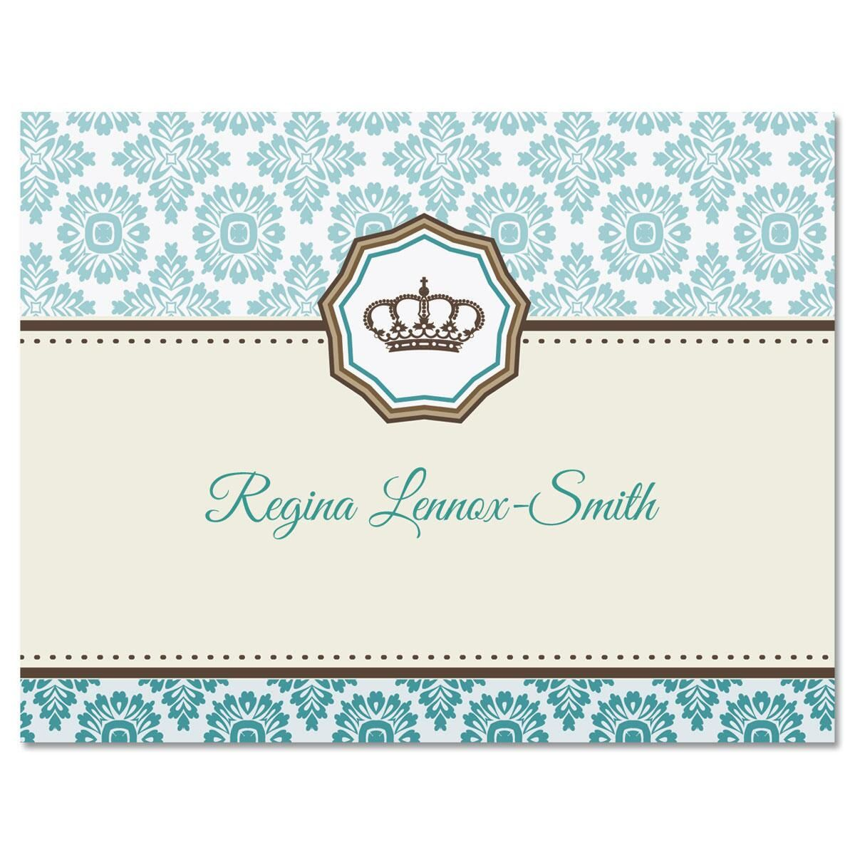 Crown Note Cards