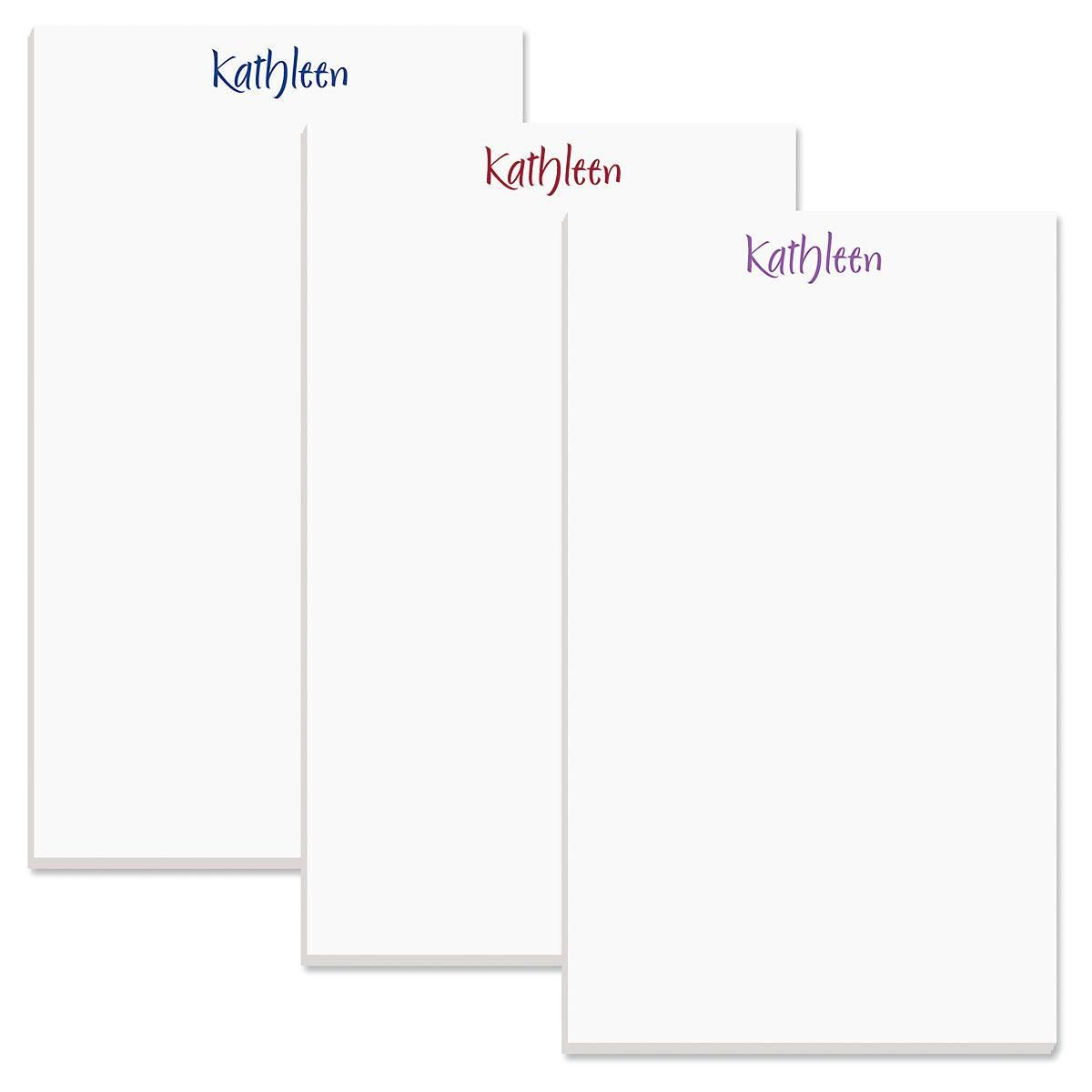 Elegant Personalized Notepads
