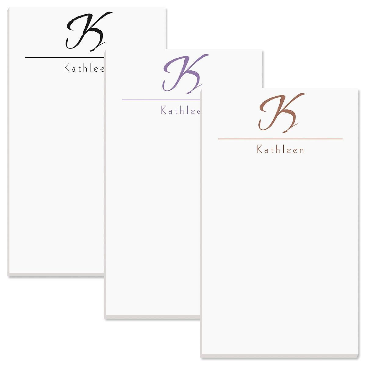 Inspirational Personalized Notepads