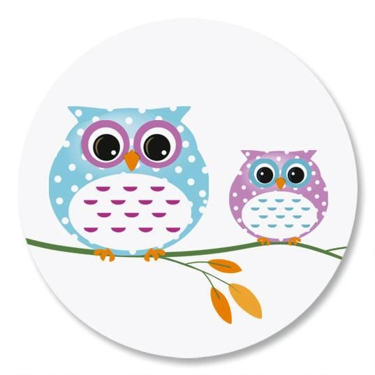 Owl Always Love You Envelope Seals
