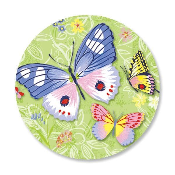 Butterfly Envelope Sticker Seals