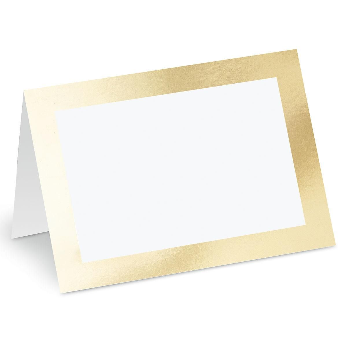 Deluxe Trimmed Blank Inside Note Cards