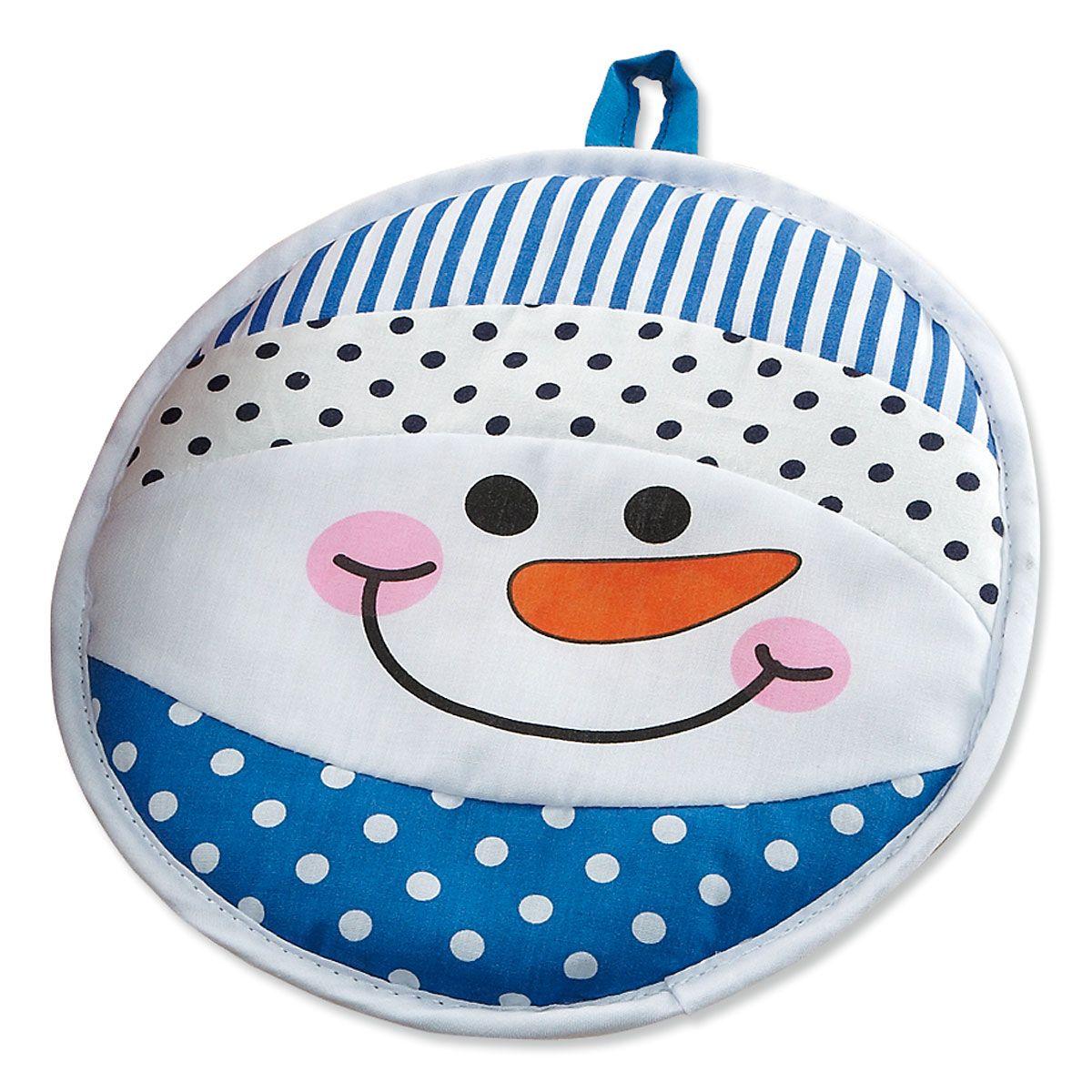 Holiday Snowman Hot Pad