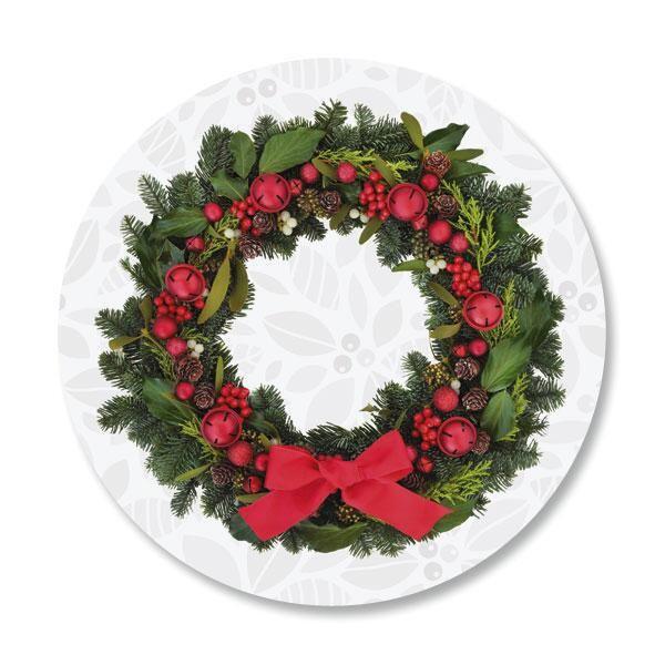 Photo Wreath Envelope Sticker Seals