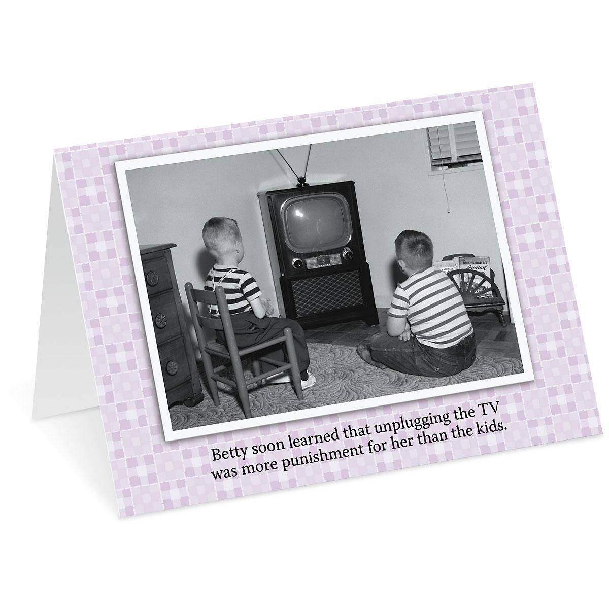 TV Humor Mother's Day Card