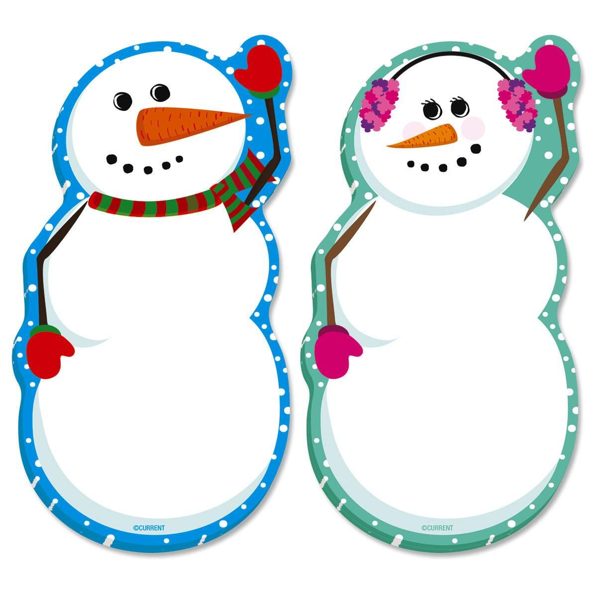 Snowmen Sticky Notes