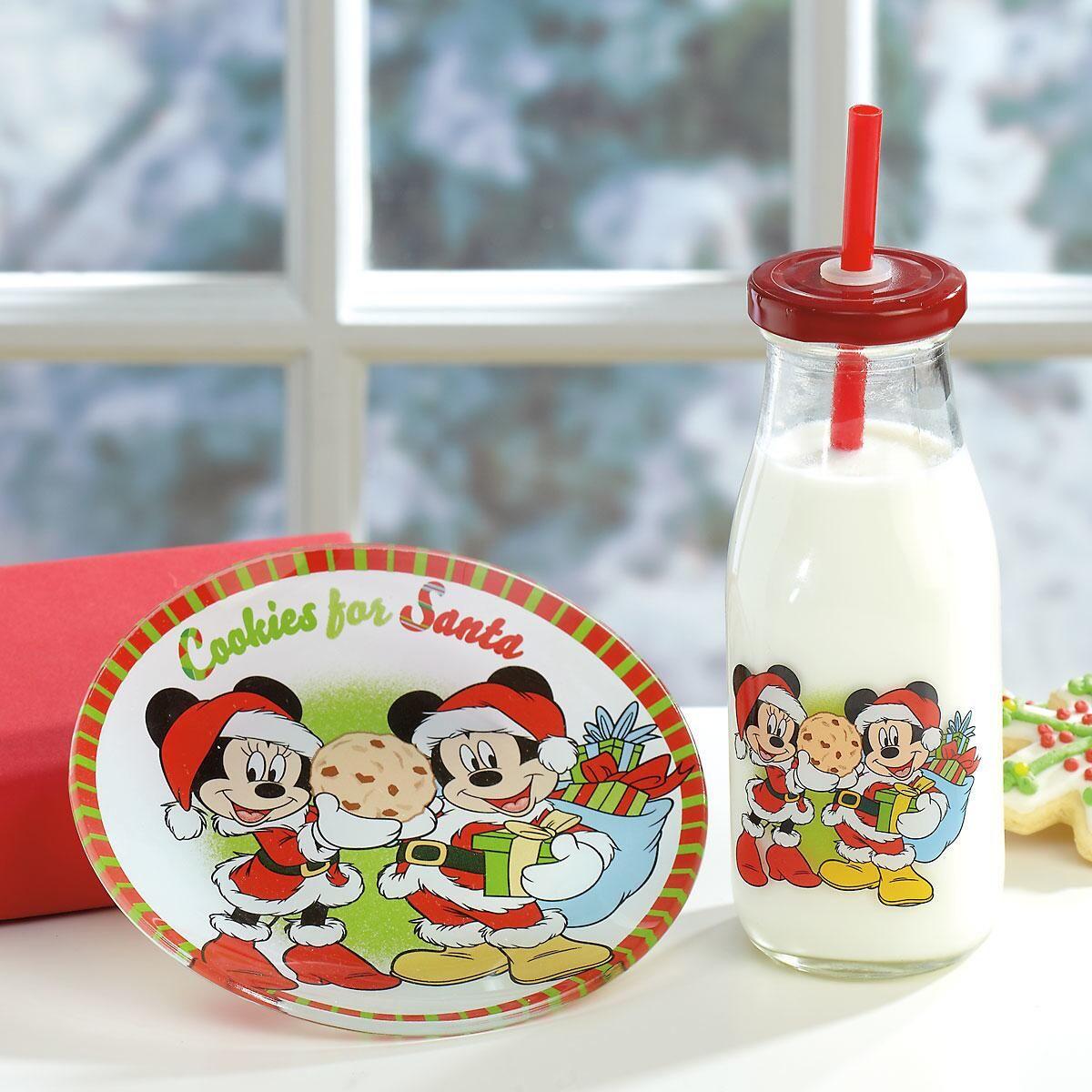 Mickey & Minnie Cookies for Santa