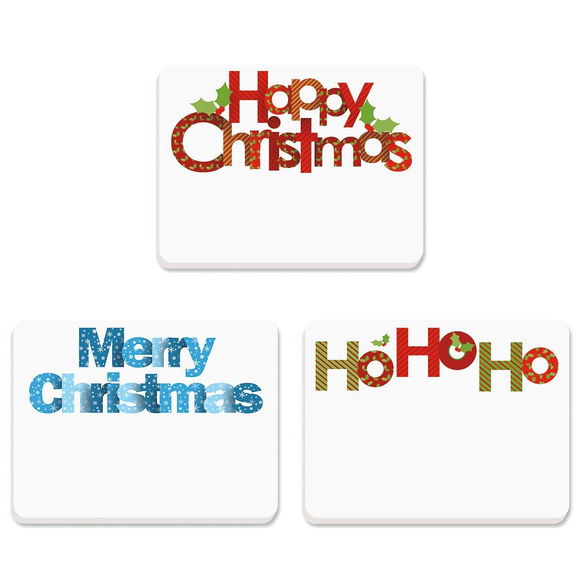 Christmas Words Sticky Notes