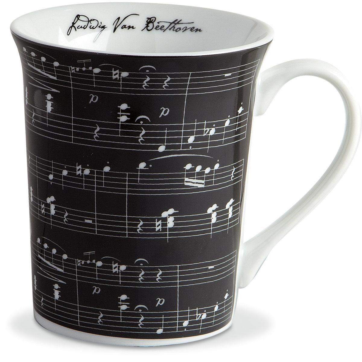 Music on Black Expressions Mug